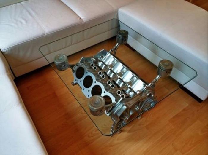 Stół Z Bloku Silnka V8 Uniwersaleu